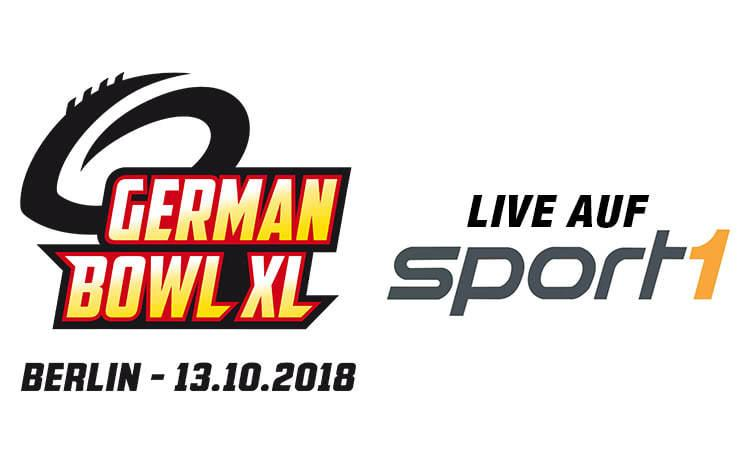 14.03.2018: German Bowl live auf SPORT1