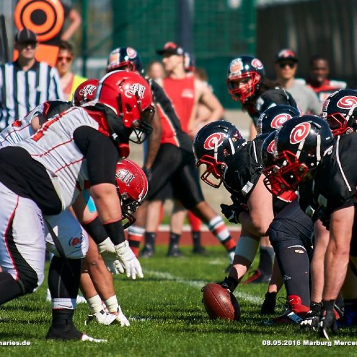 08.05.2016 - Marburg Mercenaries vs. Saarland Hurricanes (GFL)