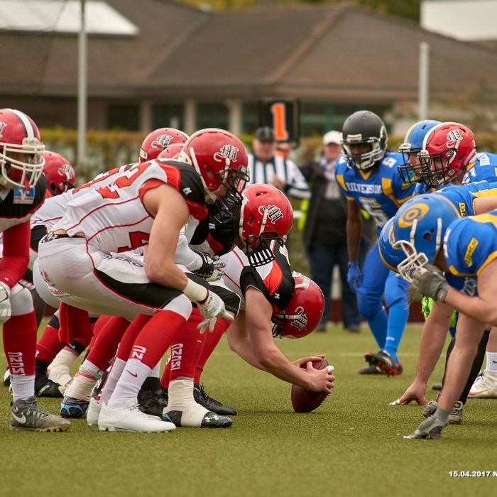 15.04.2017 - Marburg Mercenaries vs. Hilversum Hurricanes