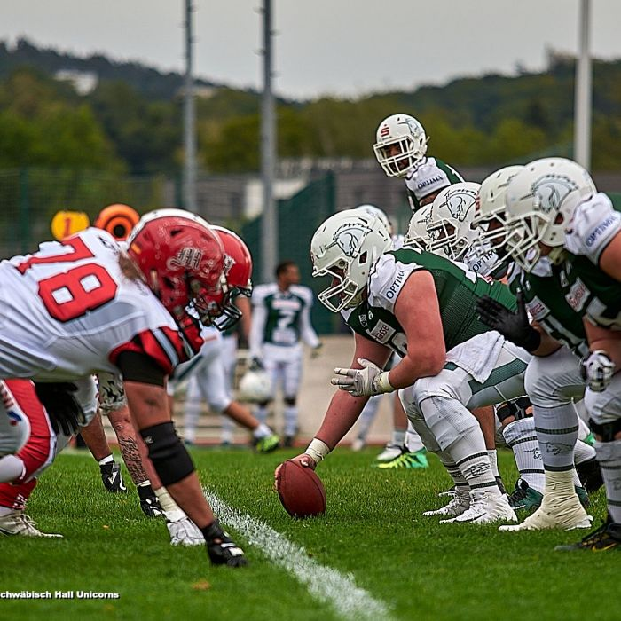 02.09.2018 Marburg Mercenaries vs. Schwäbisch Hall Unicorns