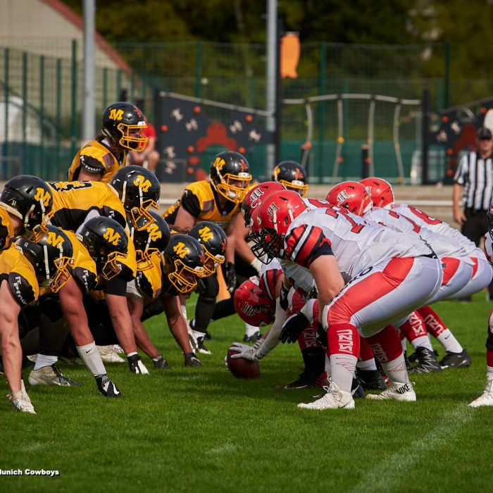 18.08.2019 Marburg Mercenaries vs. Munich Cowboys