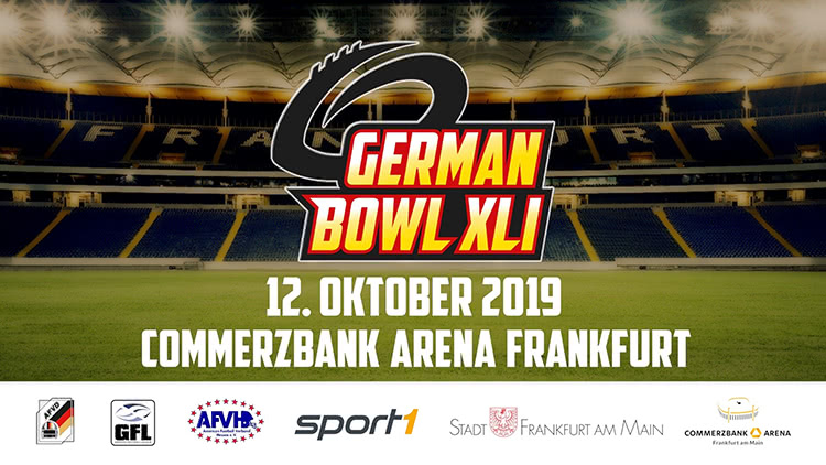 German Bowl XLI am 12. Oktober 2019 in der Commerzbank Arena Frankfurt