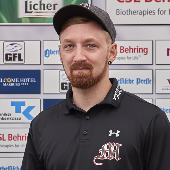 Foto Evers Janis (WR Coach)