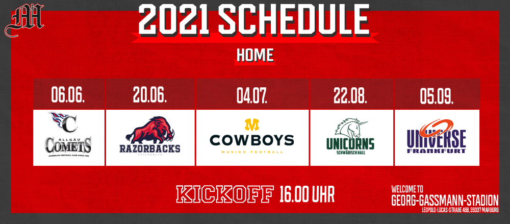 10.02.2021: Mercenaries starten am 06. Juni 2021 in die GFL Saison